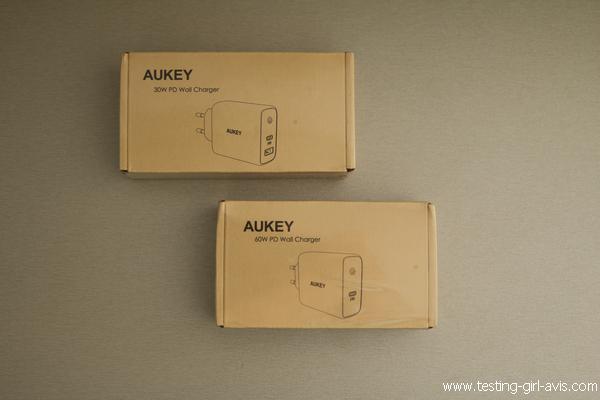 Les chargeurs USB-C AUKEY - Chargeur de téléphone