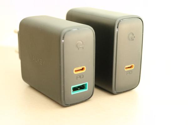 Chargeur USB-C AUKEY - adaptateur secteur rapide et fiable