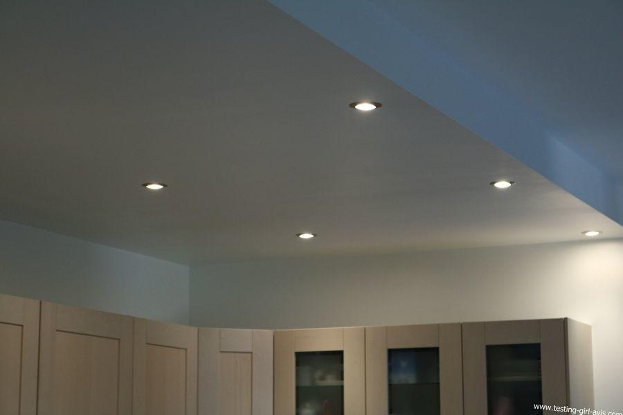 Philips Hue - Mon plafond de cuisine ouverte est à éclairage à LED connecté