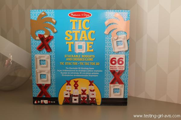Tic Stac Toe - Tic Tac Toe 3D - melissa doug