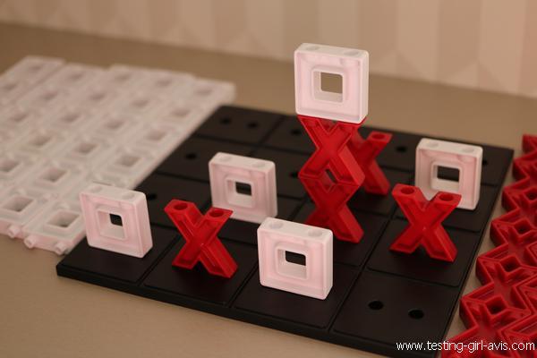 jeu de morpion en 3D idées cadeaux noël