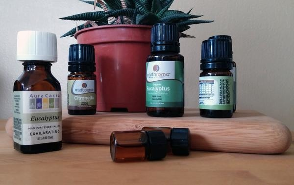 5astuces pour soigner un rhume naturellement - Huile essentielle HE eucalyptus radie - eucalyptus radiata