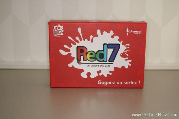 Red 7 - Le jeu