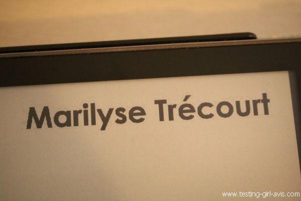 Marilyse Trecourt - L'auteure