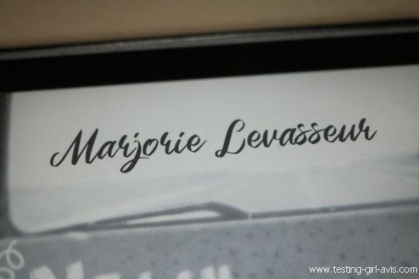 Marjorie Levasseur - auteure