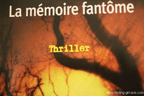 La Mémoire fantôme - Franck Thilliez résumé