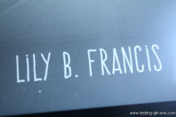 Lily b. francis auteure