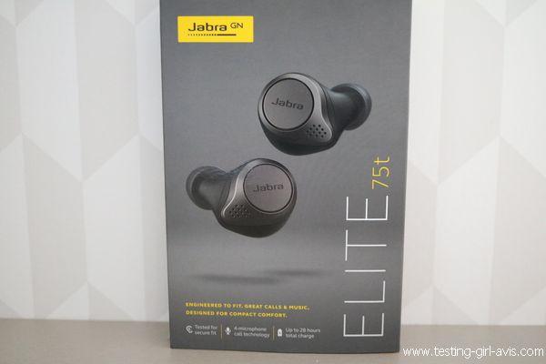 Les écouteurs sans fil Jabra Elite 75t
