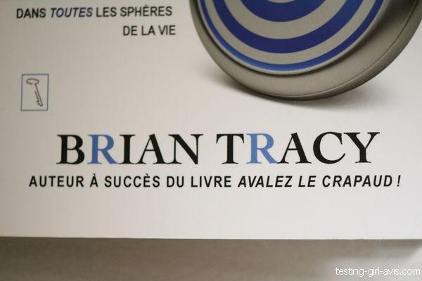 Brian Tracy - auteur a succes du livre avalez le crapaud
