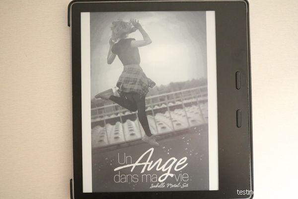 Couverture du livre un ange dans ma vie
