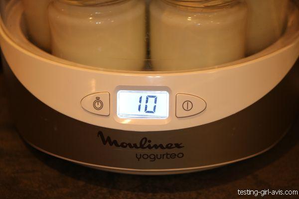 préparation des yaourts maison