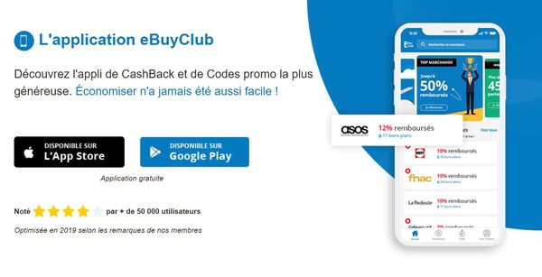 application mobile ebuyclub