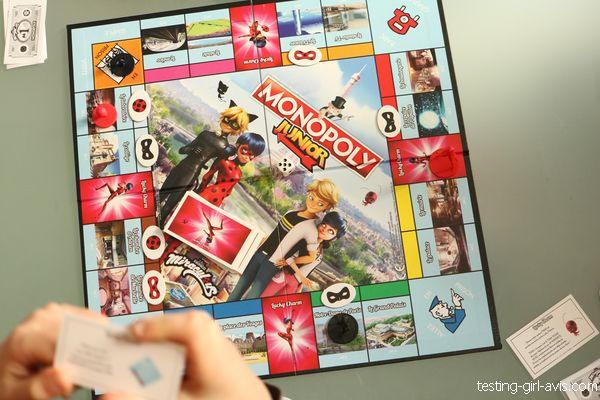 plateau de jeu monopoly junior miraculous