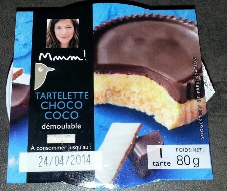 Mmm Tarte Choco Coco