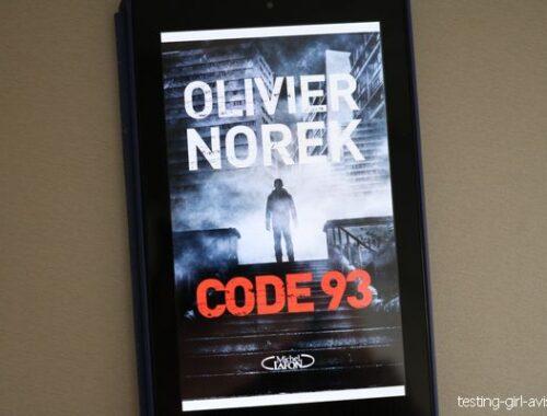 Olivier Norek - Code 93 roman policier
