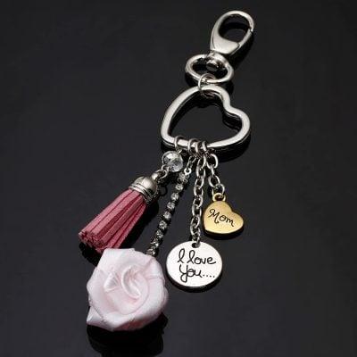 porte clés je t'aime maman, spécial fête des mères