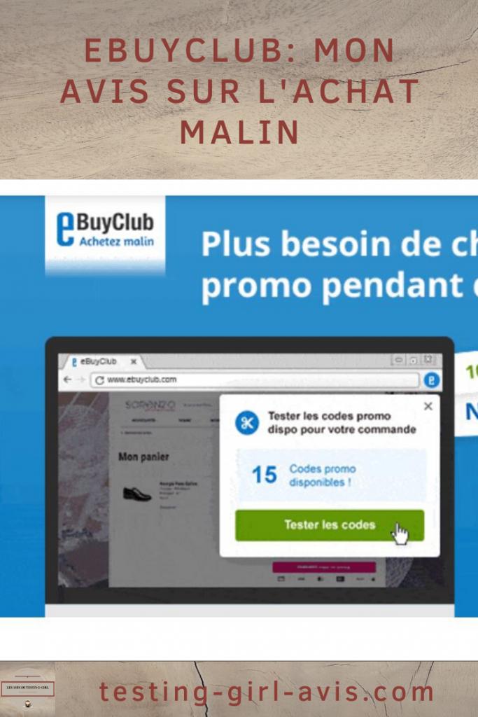 eBuyClub: Mon avis sur l'achat malin - achats en ligne - cashback - economiser argent