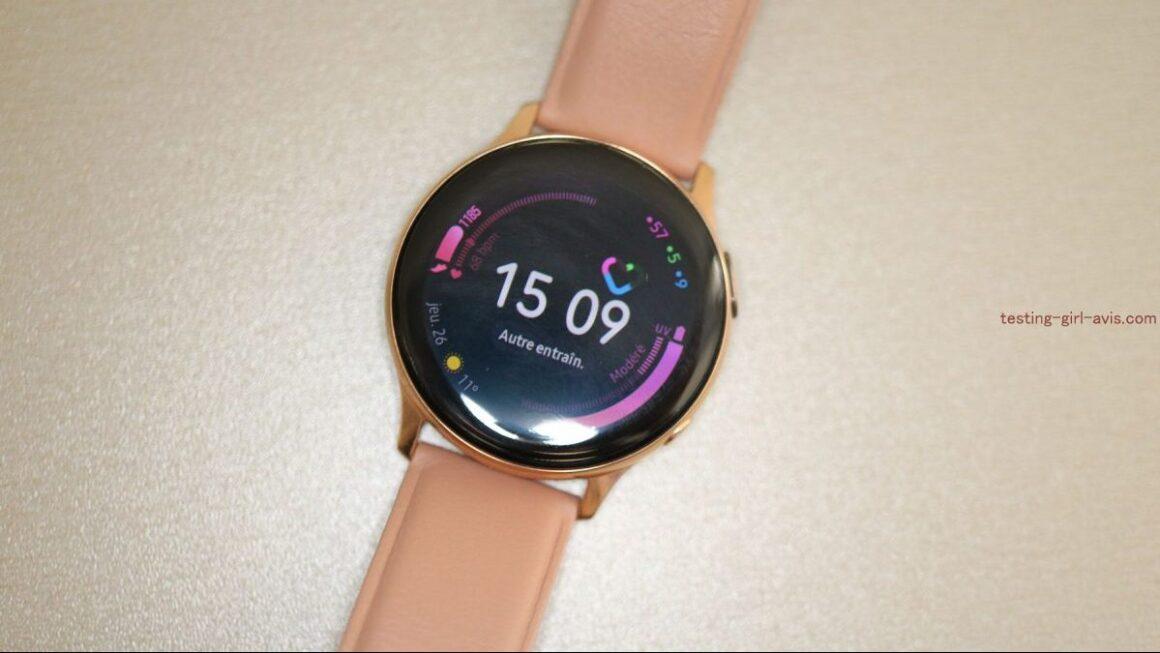 Montre samsung galaxy watch active 2