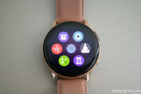 applis galaxy watch active 2
