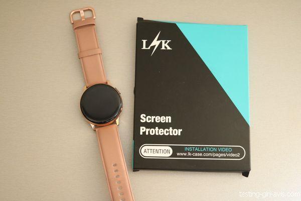 film protecteur pour galaxy watch active 2