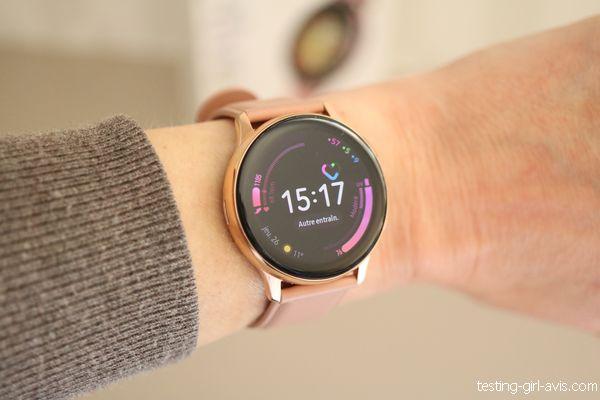 montre Samsung Galaxy Watch Active 2 avis