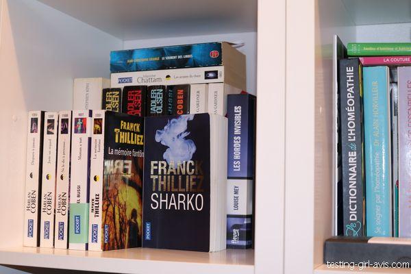 livres rangés - ranger sa maison
