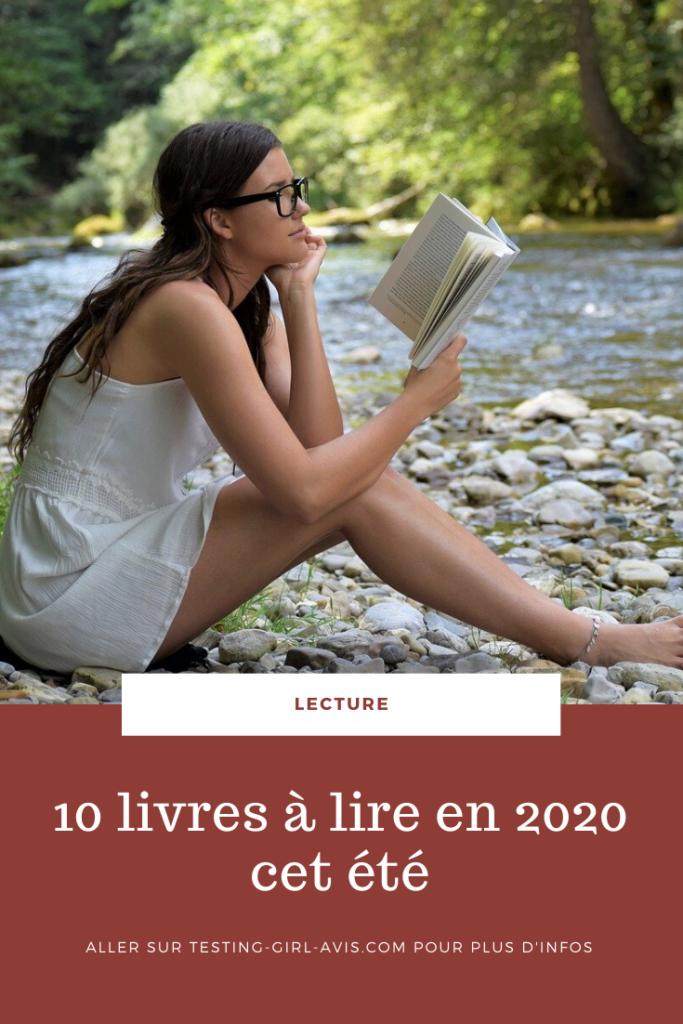 10 livres à lire en 2020 cet été Pin