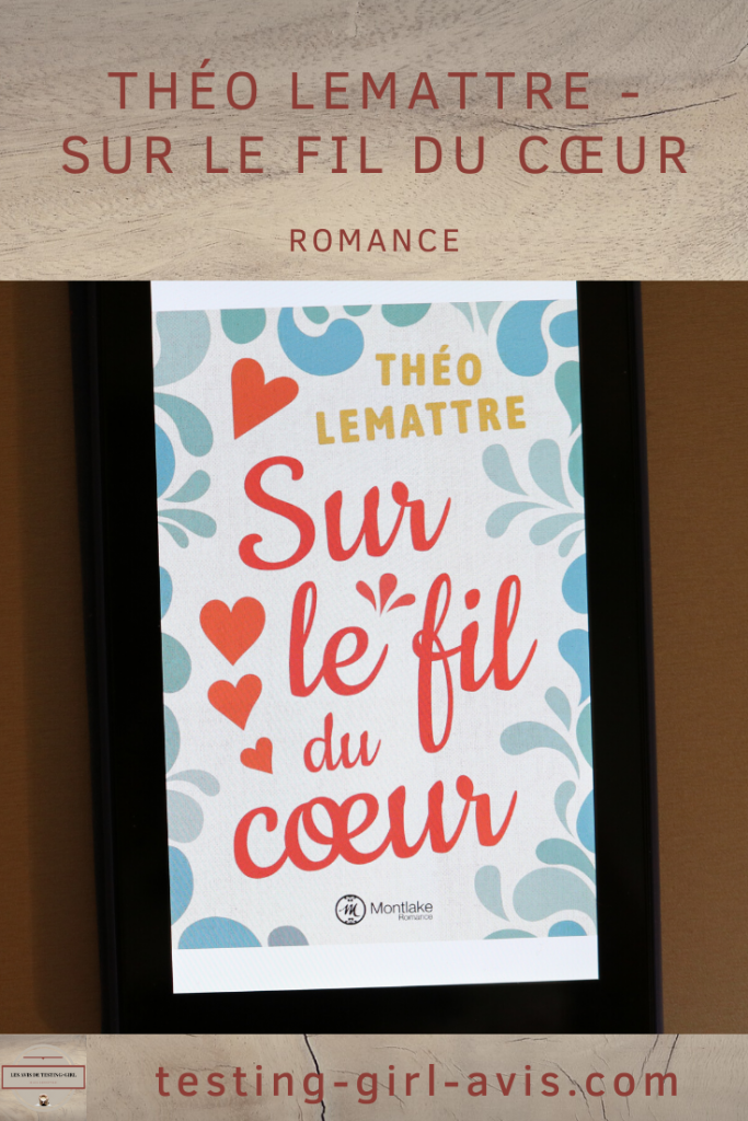 Théo Lemattre - Sur le fil du cœur Envie d'une lecture légère ? Sur le fil du coeur de Théo Lemattre est un livre romantique en français qui raconte l'histoire d'un binôme qui se déteste. Découvre si ce livre est fait pour toi en lisant ma chronique !