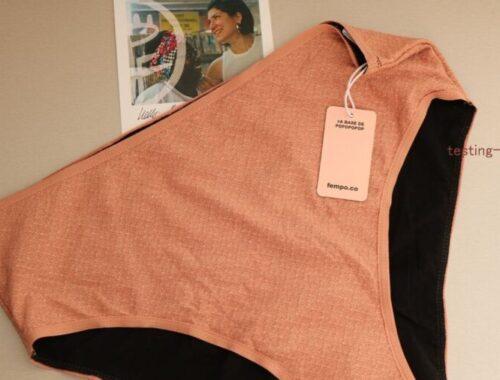 culotte menstruelle taille haute FEMPO