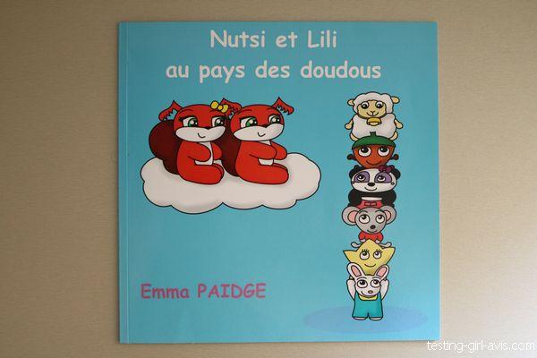 Nutsi et Lili au pays des doudous - livre pour enfant dès 3 ans