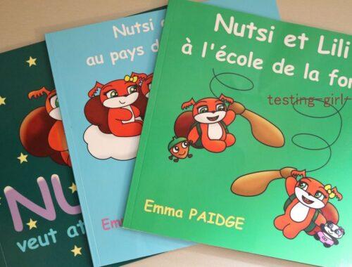 livres enfant 3 ans - 3 merveilleux livres de Emma Paidge à découvrir