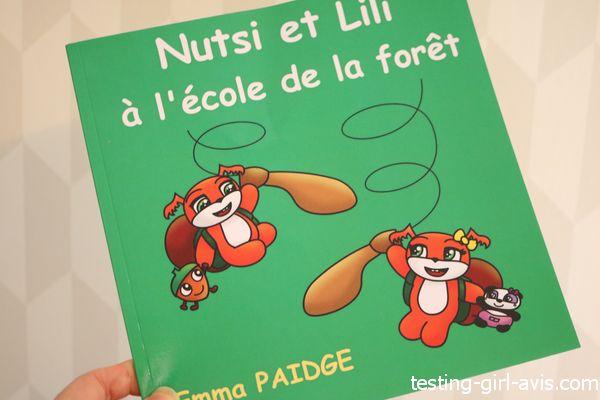 Nutsi et Lili à l'école de la forêt