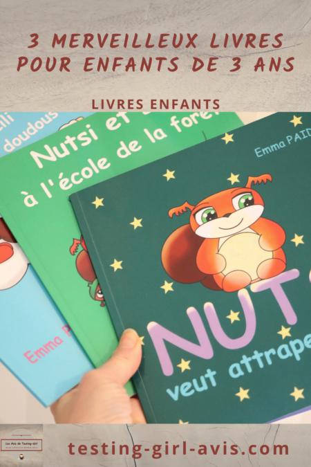 livres pour enfants 3 ans Pin