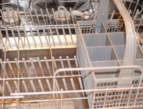 Protéger son panier de lave-vaisselle de la rouille