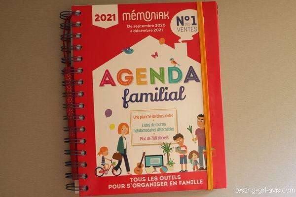 agenda familial 2021 memoniak
