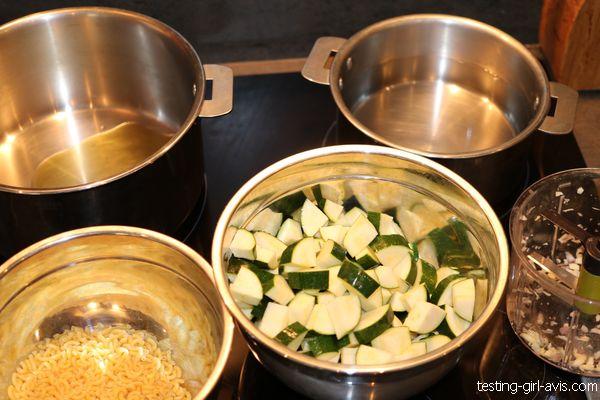 Préparation risotto de coquillettes