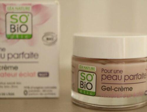 So'Bio Étic crème nuit éclat pour une peau parfaite