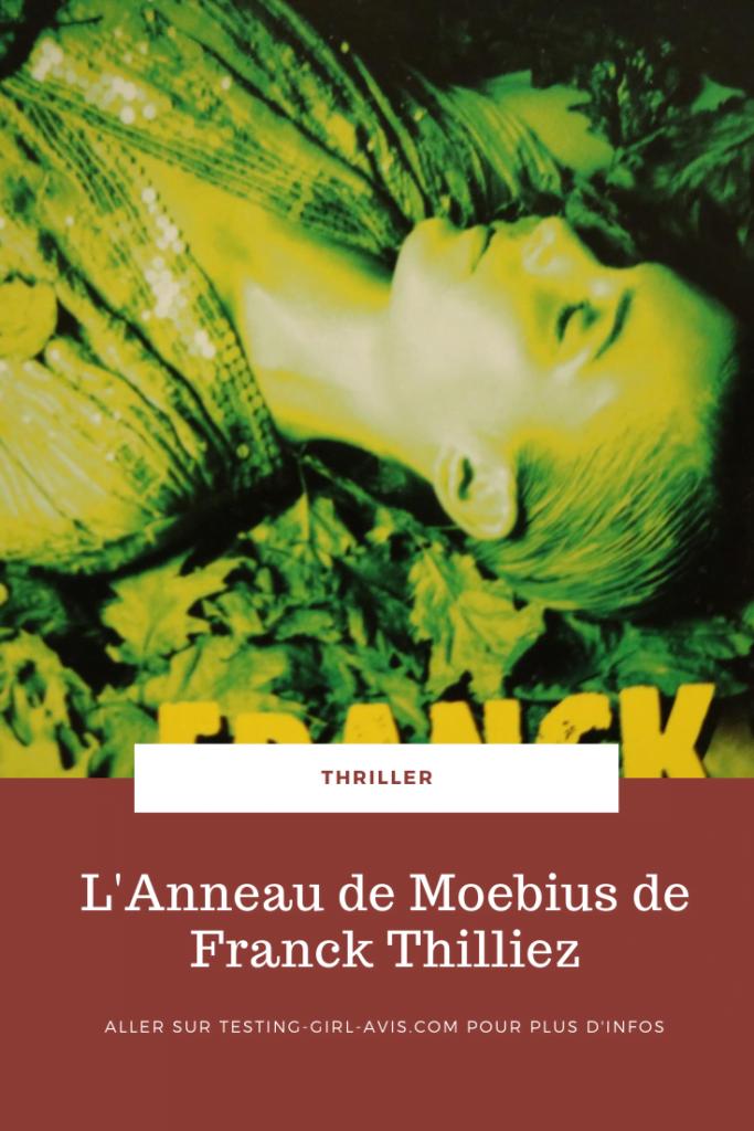L'Anneau de Moebius de Franck Thilliez Pin