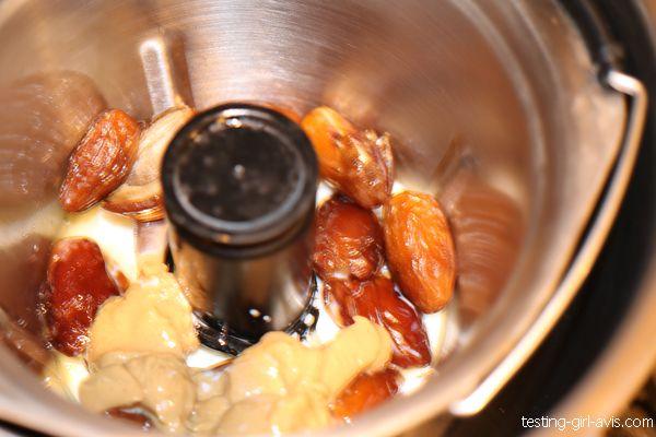 préparation garniture de dattes