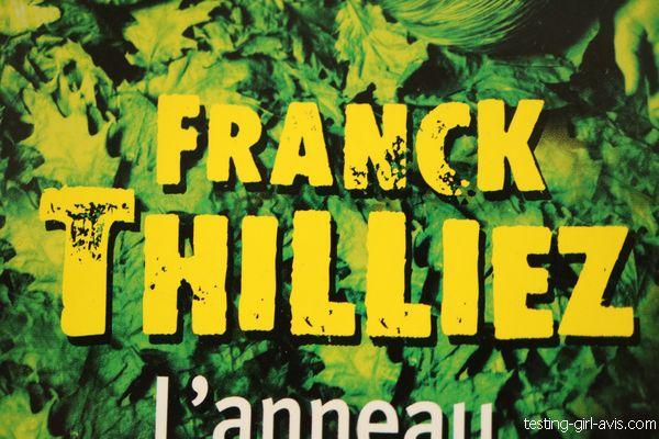 Franck Thilliez - auteur