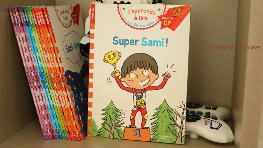 Les livres Sami et Julie - J'apprends à lire seul
