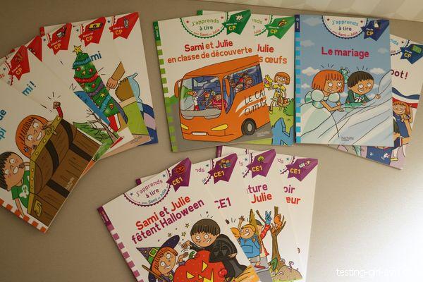 livres de Sami et Julie avis