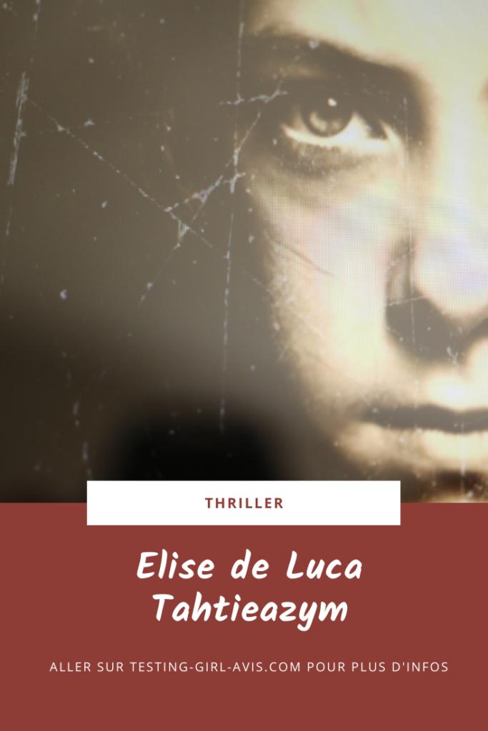 Elise de Luca Tahtieazym Pin
