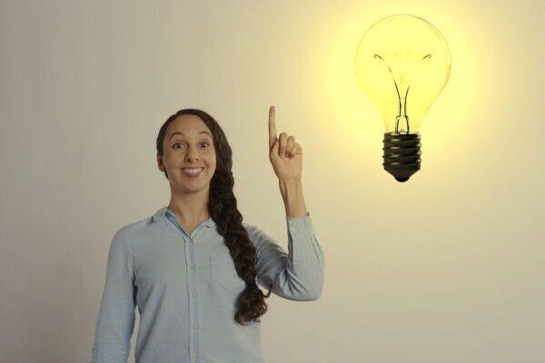 femme lumière idée trouver sa voie