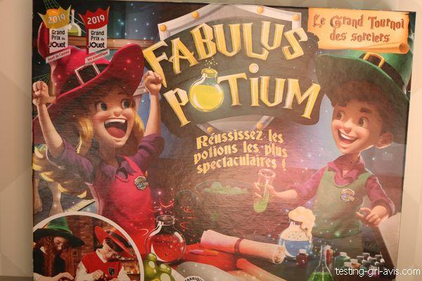 fabulus potium dujardin création