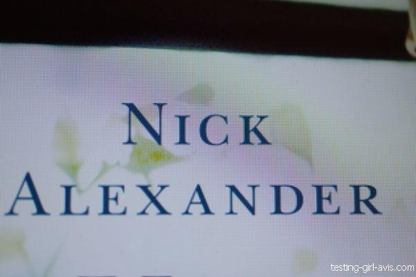 Nick Alexander - auteur anglais