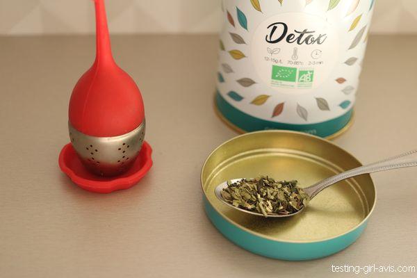 préparation thé détox origeens