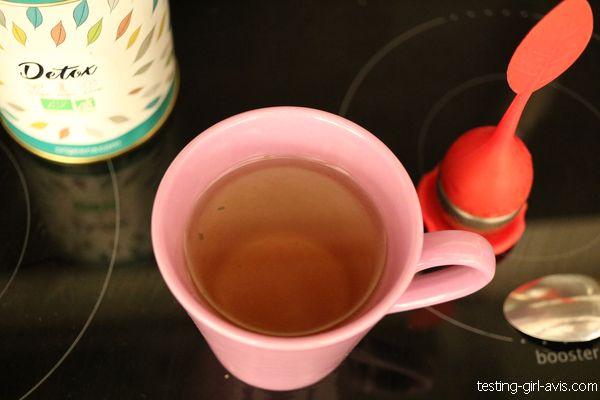 thé détox bio origeens avis