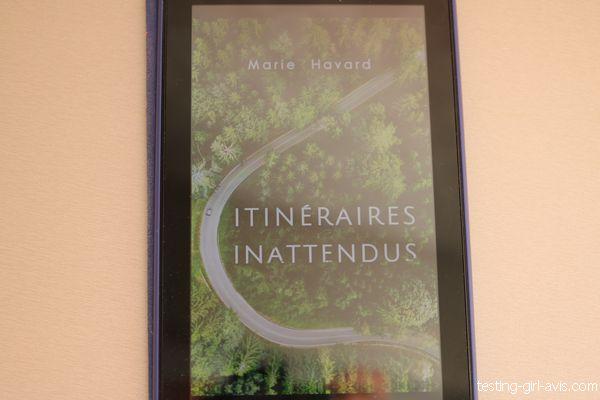 couverture du livre itinéraires inattendus de Marie Havard