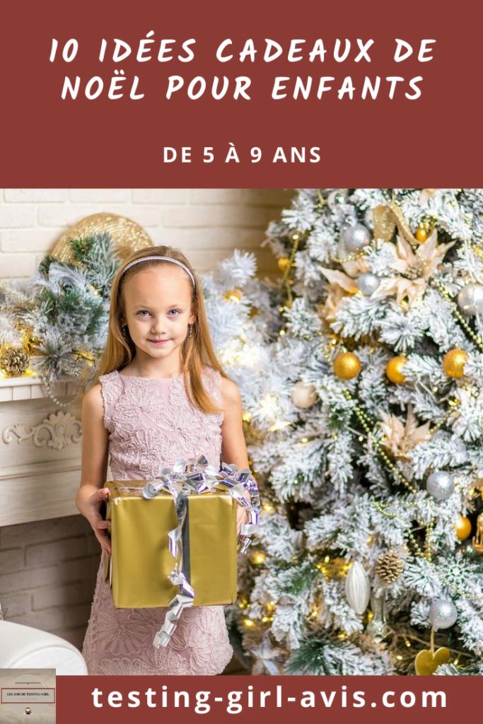10 idées cadeaux de Noël pour enfants de 5 à 9 ans Pin